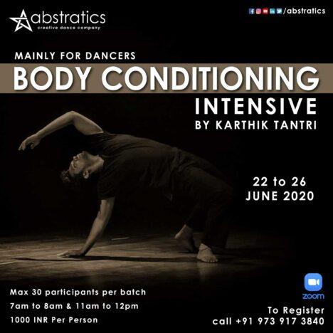 Body Conditioning Intensive by Karthik Tantri